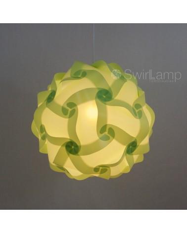 Swirlamp 42cm Lime lampenkap