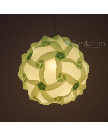 Swirlamp 42cm Lime