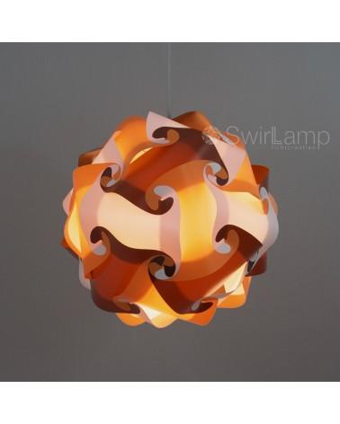Swirlamp 42cm 70's