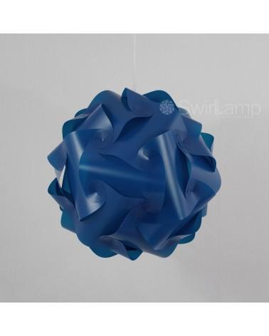 Swirlamp 42cm Donkerblauw