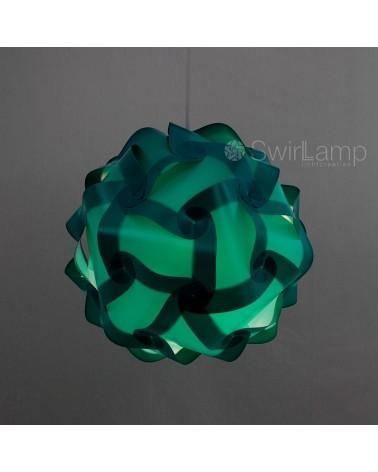Swirlamp 42cm Petrol lampshade