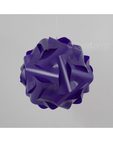 Swirlamp 42cm Purple