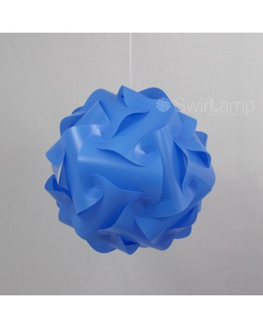 Swirlamp 42cm Light blue