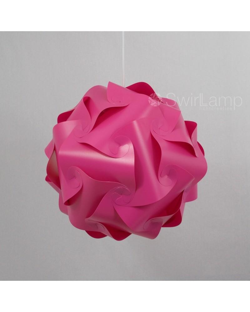Swirlamp 42cm Pink