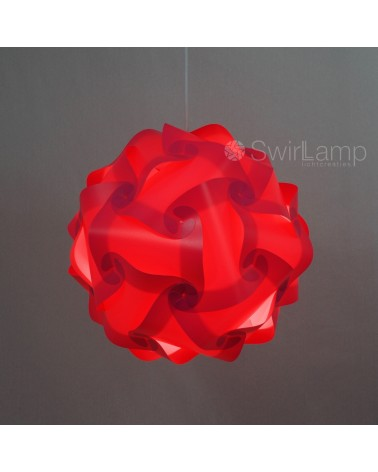 Swirlamp 42cm Roze lampenkap