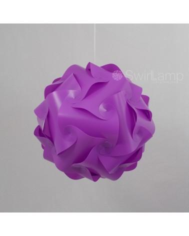 Swirlamp 42cm Lila