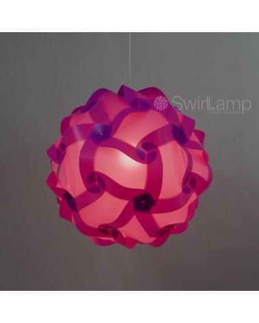Swirlamp 42cm Lila lampenkap