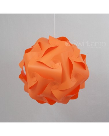 Swirlamp 42cm Orange