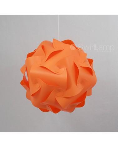 Swirlamp 42cm Orange