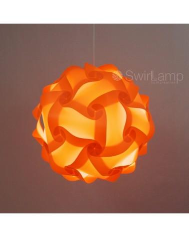 Swirlamp 42cm Oranje lampenkap