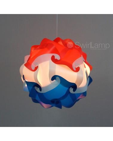 Swirlamp 42cm Nederlandse vlag