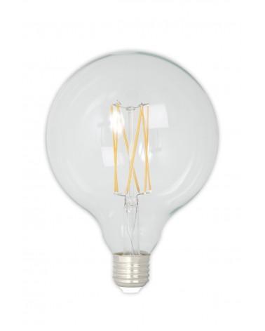 LED Dimbare Filament Globelamp 4W 350lm E27 GLB125 Kooldraad Look