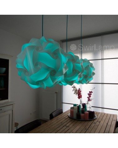 Swirlamp Wit RGBw kleuren LED Totaalpakket