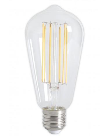 LED volglas LangFilament Rustieklamp 4W Dimbaar 350lm E27 Helder