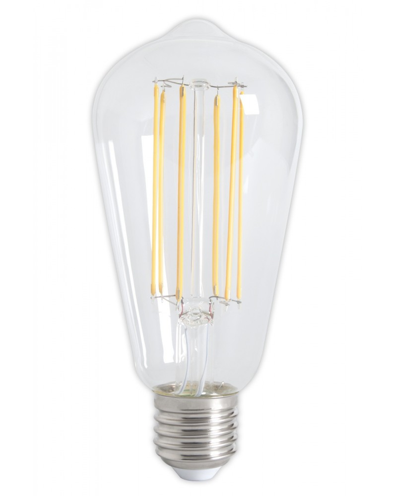 LED full glass LongFilament Rustic bulb 4W Dimmable 350lm E27 Bright