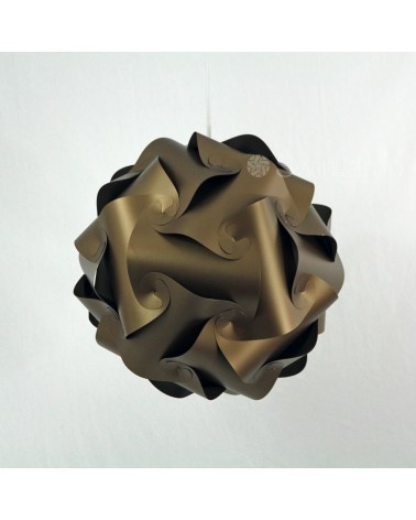 Swirlamp 42cm Dark Gold lampshade
