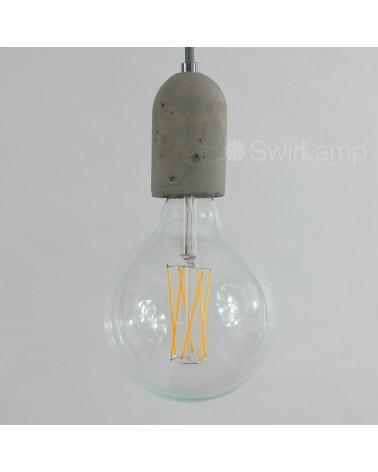 LED full glass LongFilament Globe Bulb 240V 4W 350lm E27 GLB125