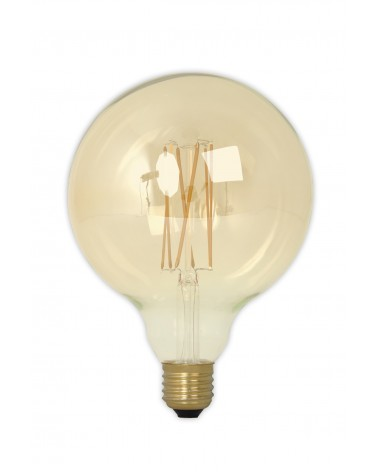 LED Dimbare Filament Globelamp GOLD 4W 320lm E27 GLB125 Kooldraad Look 425484