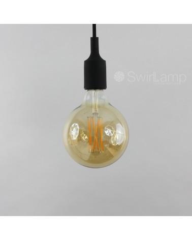 LED Dimbare Filament Globelamp GOLD 4W 320lm E27 GLB125 Kooldraad Look