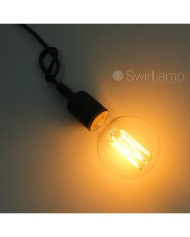 LED full glass LongFilament Globe Bulb 240V 4W 350lm E27 GLB95 Dimmable