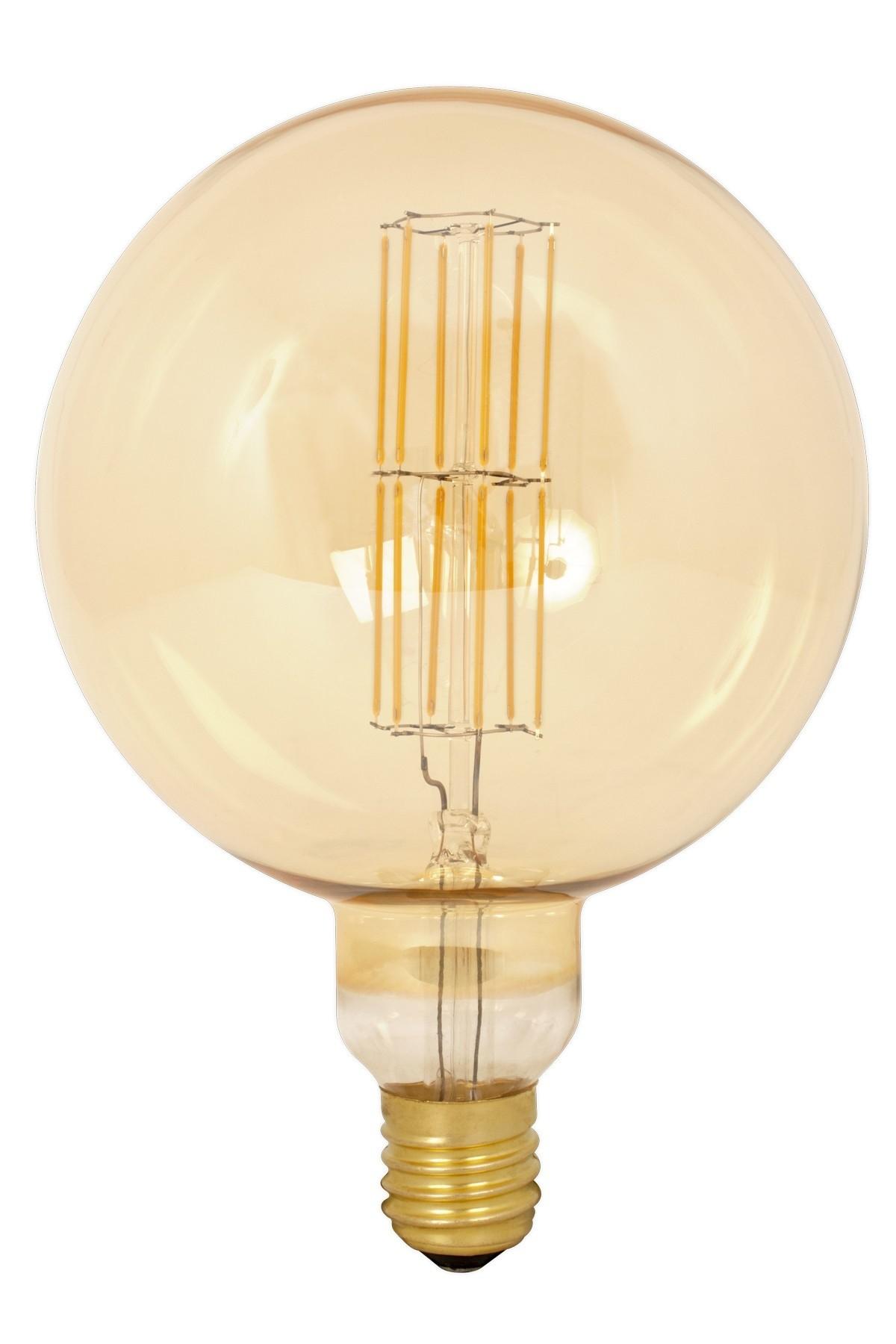 Giant led xxl mega grote mondgeblazen led lampen van calex led mega globe giant xxl dimmable filament bulb e40 parisarafo Images