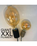Industrial Black E40 pendant for XXL Giant LED