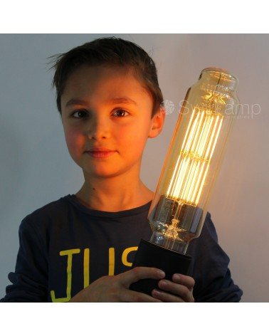 Calex Giant XXL filament Tower dimbare LED lamp met E40 lampvoet