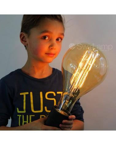 Calex Splash Giant XXL filament dimbare LED lamp met E40 lampvoet