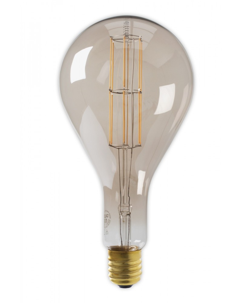Calex Splash Giant XXL Titanium filament dimbare LED lamp met E40 lampvoet