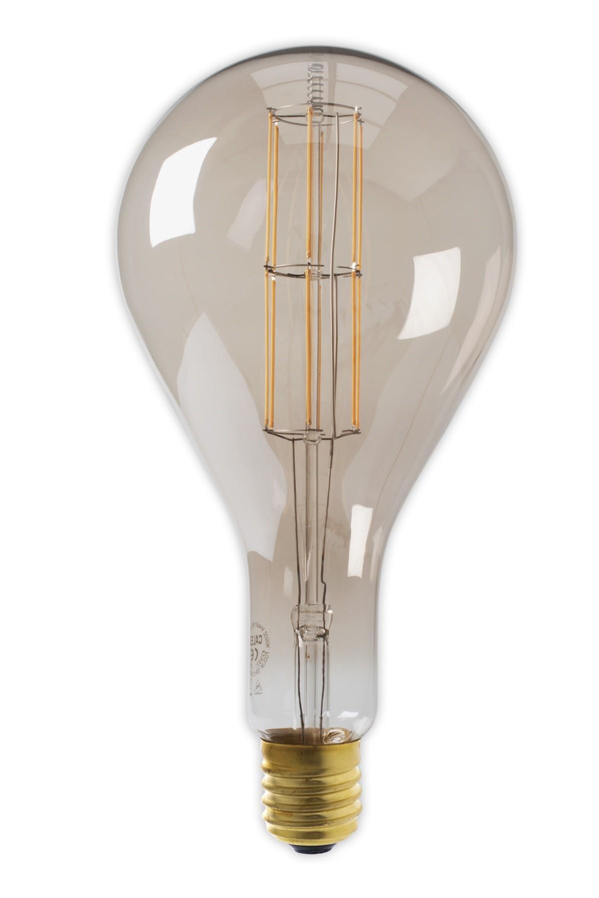 Giant led xxl mega grote mondgeblazen led lampen van calex calex splash giant xxl titanium filament dimbare led lamp met e40 lampvoet parisarafo Gallery