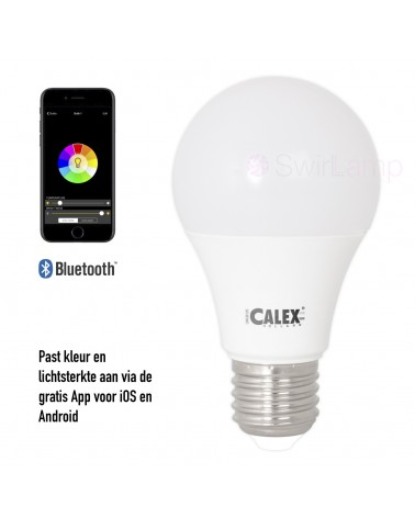 Calex LED A60 Multicolour Hue RGBW lamp bluetooth