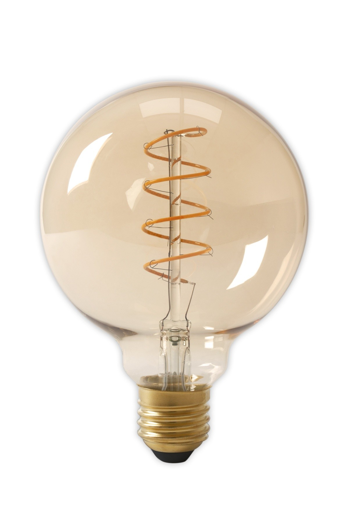 Led bulbs globe led bulbs filament led bulbs rgb led bulbs e27 flex led dimbare filament globelamp gold 4w 200lm e27 glb125 kooldraad look parisarafo Gallery
