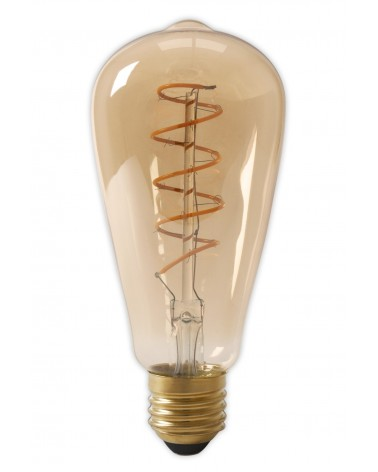 LED Dimbare Flex Filament Rustieklamp 4W 200lm E27 Gold 425752