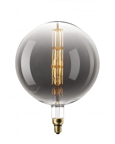 Calex XXL Manhattan Titanium LED Mega Globelamp E27 8W dimbaar