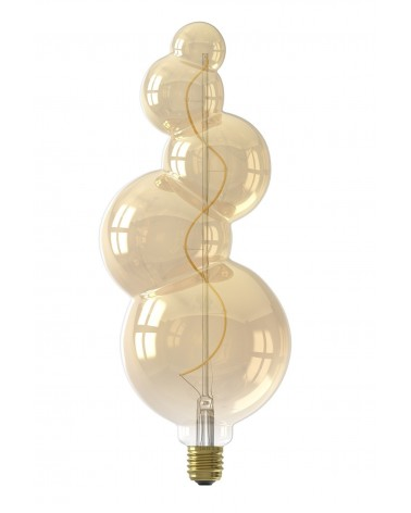 Calex Alicante Gold LED lamp 4W 60lm E27 dimbaar 426010