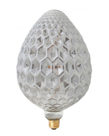 Calex Madrid Titanium Led lamp 240V 4W 60lm E27 dimbaar