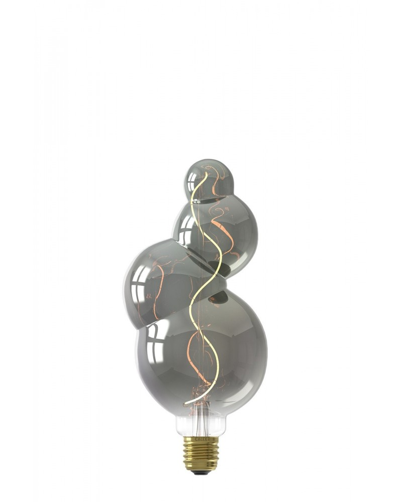 Calex Valencia Titanium LED lamp 4W 60lm E27 dimbaar