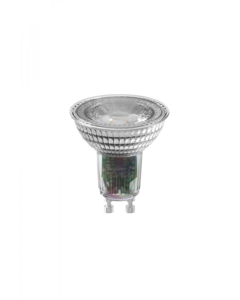 Calex COB LED lamp GU10 warmwit 2700K Dimbaar - grijze behuizing 7W 550lm