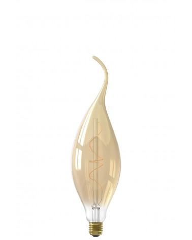 Calex Calpe E27 Led lamp Titanium 4W 60lm 2100K  - 426040