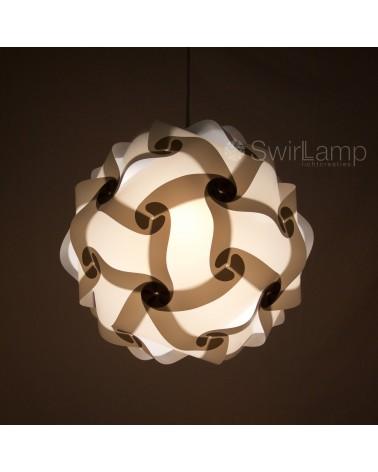 Swirlamp 42cm White lampshade
