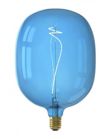 Calex Avesta Sapphire Blue led lamp 4W 80lm 2700K Dimbaar  426204