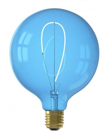 Calex Nora G125 Sapphire Blue led lamp 4W 80lm 2700K Dimbaar |426246