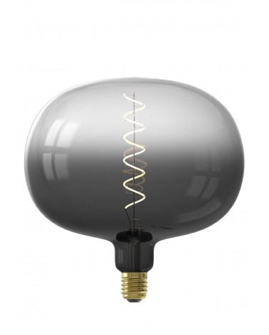 Calex Boden Moonstone Black lamp 4W 75lm 2200K Dimbaar |426226