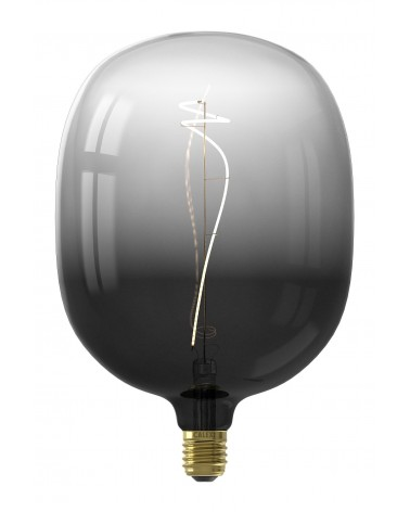 Calex Avesta Moonstone Black led lamp 4W 80lm 2200K Dimbaar |426206