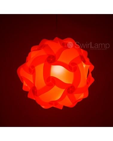 Swirlamp 42cm Red