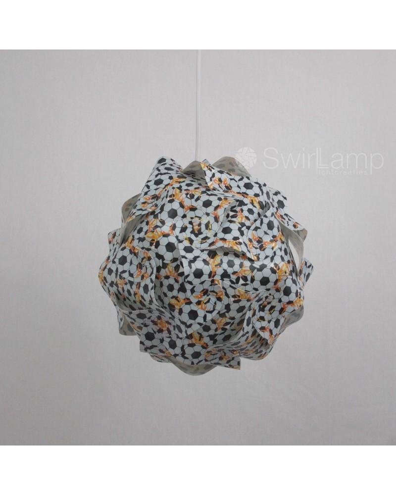 Swirlamp 30cm Voetbal
